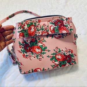 Betsy Johnson | Pink Floral Cross Body